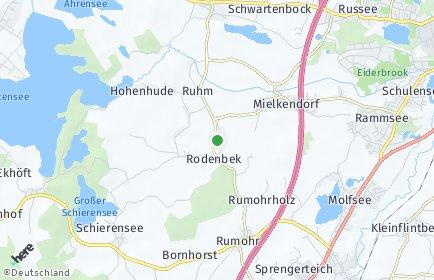 Stadtplan Rodenbek