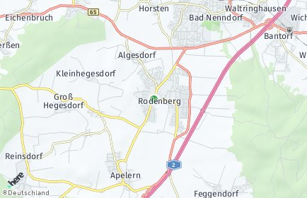 Stadtplan Rodenberg