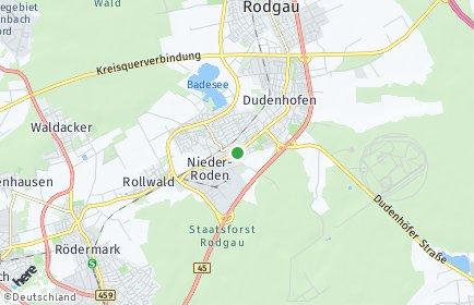Stadtplan Rodgau