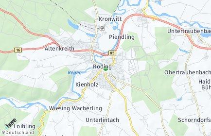 Stadtplan Roding