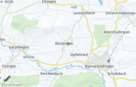 Stadtplan Röckingen