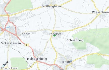 Stadtplan Rödelsee