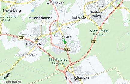 Stadtplan Rödermark