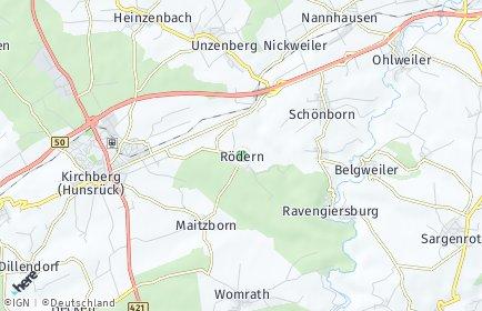Stadtplan Rödern