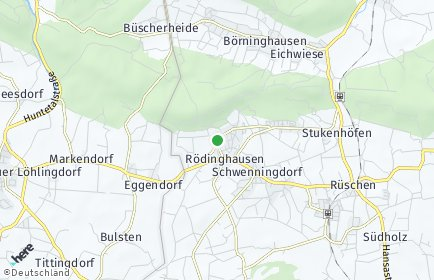 Stadtplan Rödinghausen