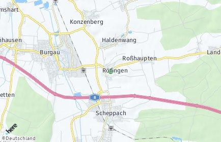 Stadtplan Röfingen
