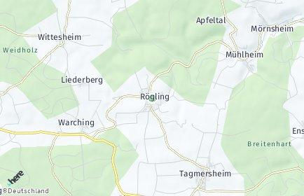 Stadtplan Rögling