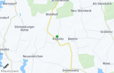 Stadtplan Rögnitz