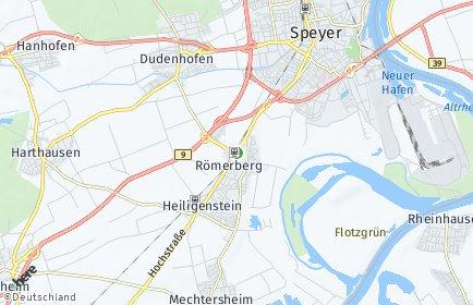 Stadtplan Römerberg