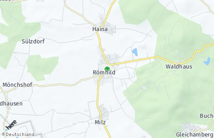 Stadtplan Römhild
