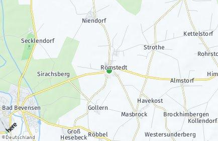 Stadtplan Römstedt