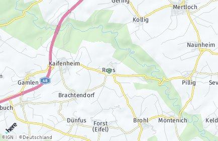 Stadtplan Roes