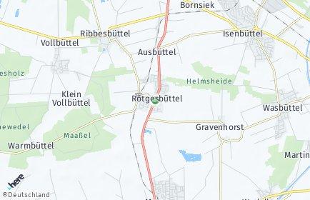 Stadtplan Rötgesbüttel