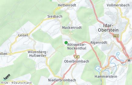 Stadtplan Rötsweiler-Nockenthal