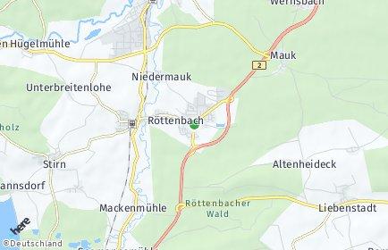 Stadtplan Röttenbach (Landkreis Roth)