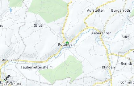 Stadtplan Röttingen