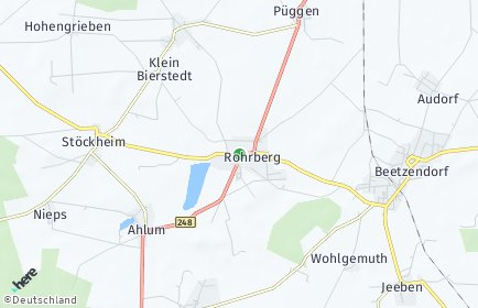 Stadtplan Rohrberg (Altmark)