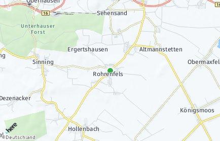 Stadtplan Rohrenfels