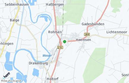 Stadtplan Rohrsen