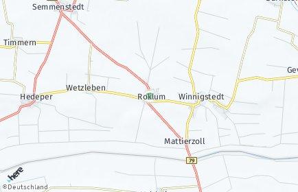 Stadtplan Roklum