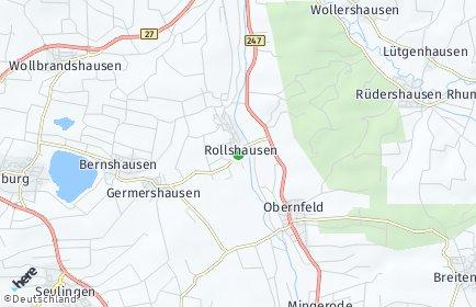 Stadtplan Rollshausen