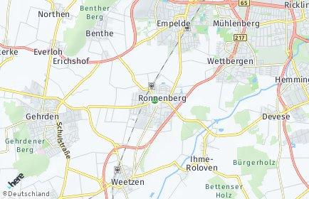 Stadtplan Ronnenberg