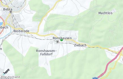 Stadtplan Ronshausen