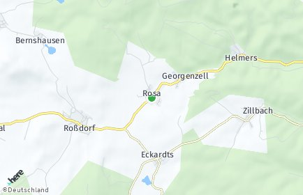 Stadtplan Rosa