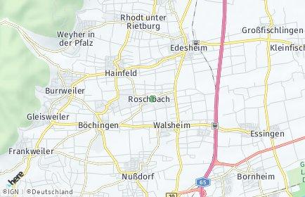 Stadtplan Roschbach