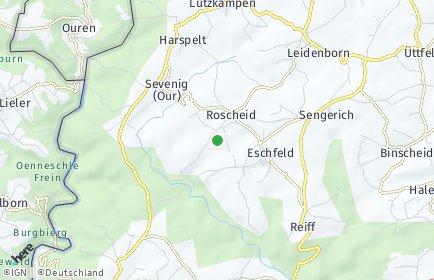 Stadtplan Roscheid