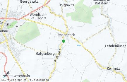 Stadtplan Rosenbach (Oberlausitz)