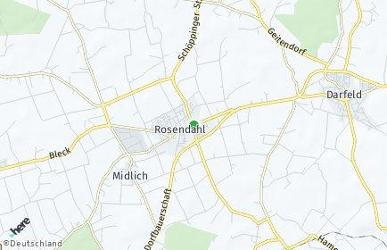 Stadtplan Rosendahl