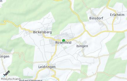 Stadtplan Rosenfeld OT Leidringen