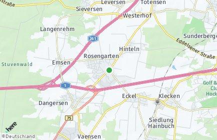 Stadtplan Rosengarten (Landkreis Harburg)