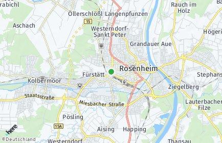 Stadtplan Rosenheim