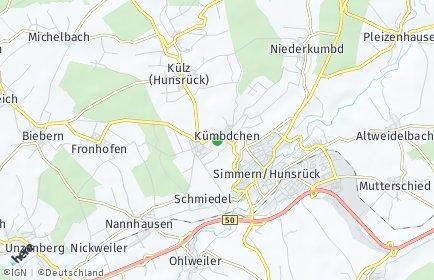 Stadtplan Rhein-Hunsrück-Kreis
