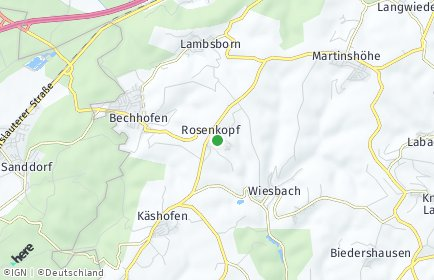 Stadtplan Rosenkopf