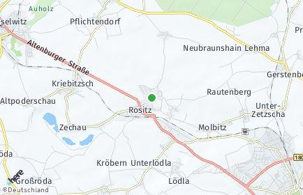 Stadtplan Rositz