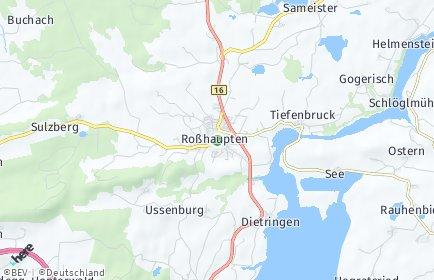 Stadtplan Roßhaupten