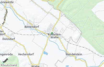 Stadtplan Roßleben-Wiehe