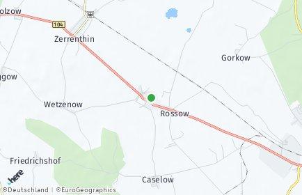 Stadtplan Rossow