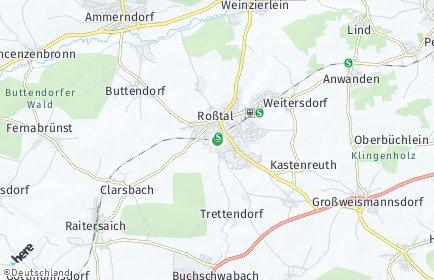 Stadtplan Roßtal