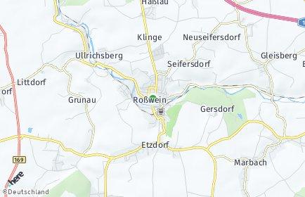 Stadtplan Roßwein