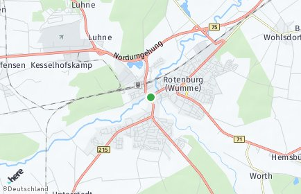 Stadtplan Rotenburg (Wümme)