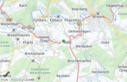 Stadtplan Roth (Kreis Altenkirchen)