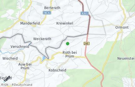 Stadtplan Roth bei Prüm