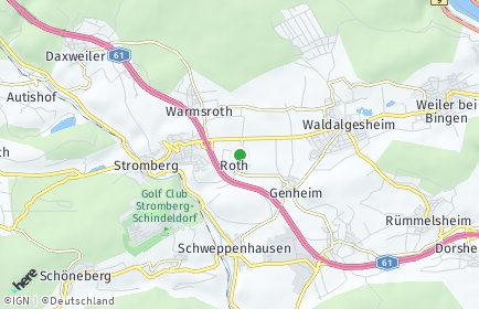 Stadtplan Roth bei Stromberg