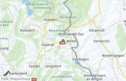 Stadtplan Roth an der Our