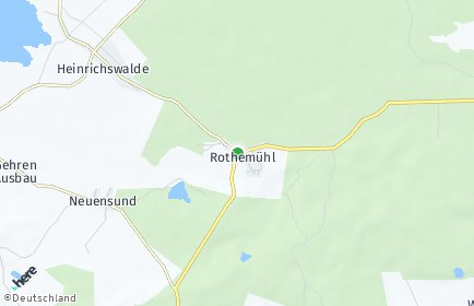 Stadtplan Rothemühl