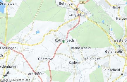 Stadtplan Rothenbach